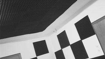 Akustikschaumstoff zu klangoptimierung