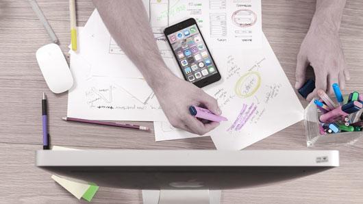 Werbung-Planung